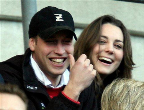 Kate and William Hide A Heart (4/5)