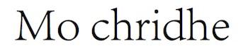 Mochridhe